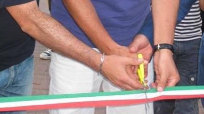 Inaugurazione della nuova rotatoria a Largo Brodolini