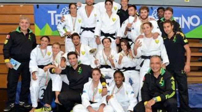 Judo a Squadre, le Fiamme Gialle tornano da Trento, con un oro ed un bronzo