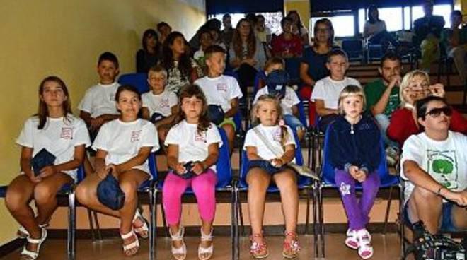 La Corrado Melone incontra i bambini di Minsku
