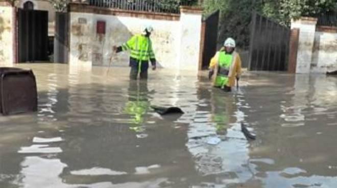 La Protezione Civile di Tarquinia a Beneventosu richiesta del Dipartimento Nazionale