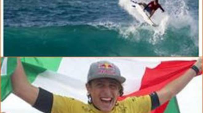 Leonardo Fioravanti Campione del Mondo di surf under 18