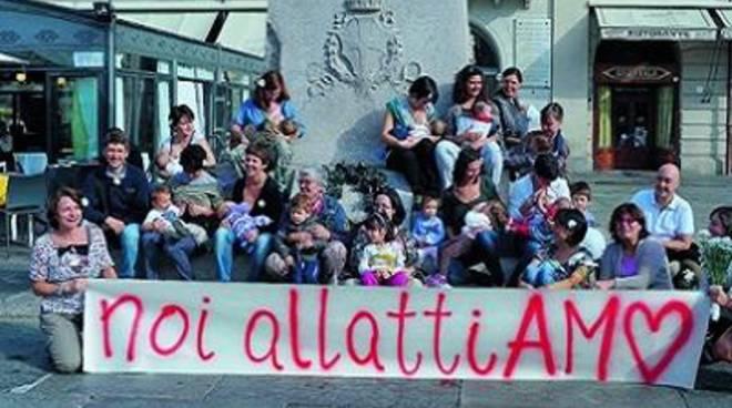 Sabato 3 ottobre, Flash Mob per l'allattamento