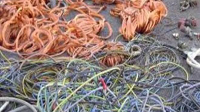 Testa di Lepre: rubati 350 metri di cavi di rame