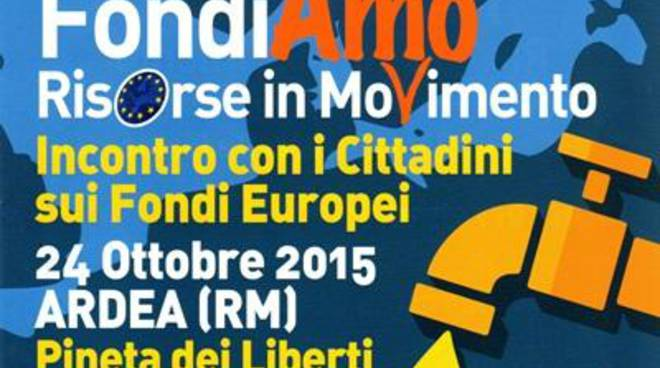 Un incontro per parlare dei finanziamenti europei
