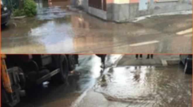 Una giornata di pioggia sconvolge il X Municipio