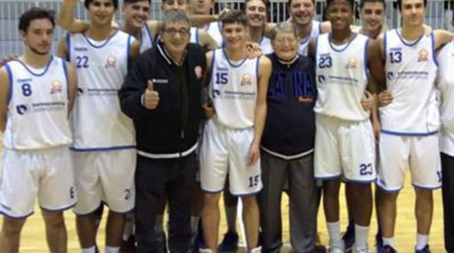 Basket:Under 20 Regionale, terza vittoria di fila