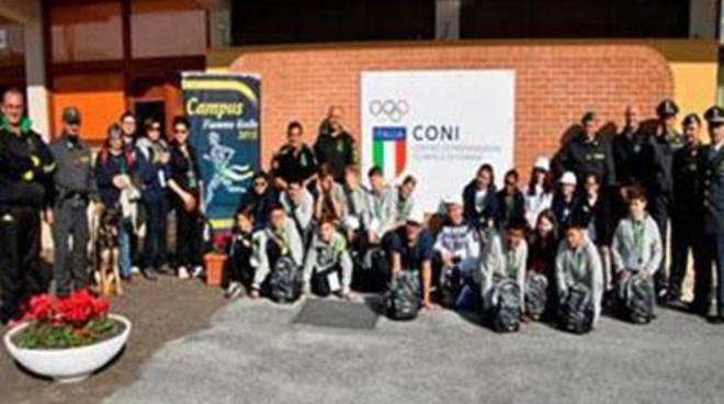 Campus Fiamme Gialle 2015: entra nel vivo il Campus di Castelporziano