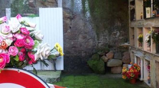Chiusa un'ala del cimitero monumentale di Santa Marina