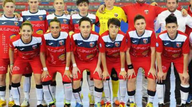 La Vis Fondi serie A calcio a 5 femminile espugna Salerno