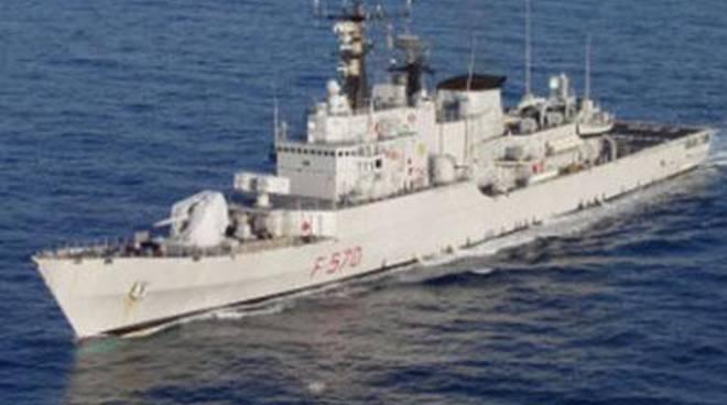 Marina Militare: ultima visita della nave Maestrale