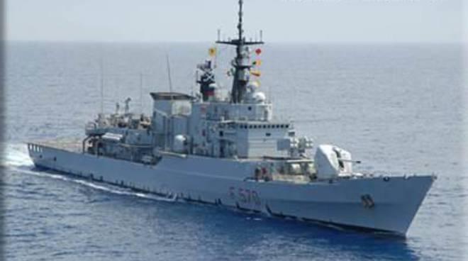 Nave Maestrale: la sosta a Gaeta nell'ultima Campagna Navale