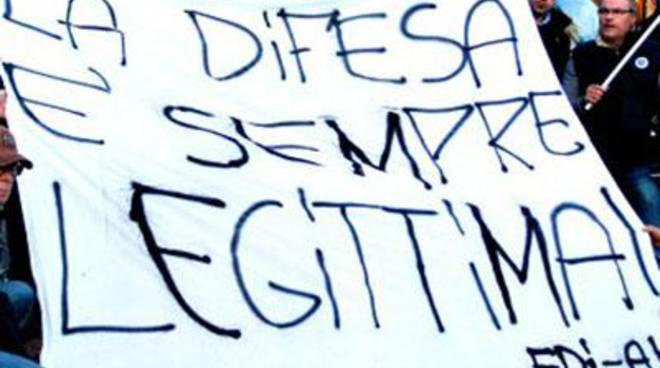 "Sul litorale l'iniziativa di FdI-An ""La difesa è sempre legittima"""