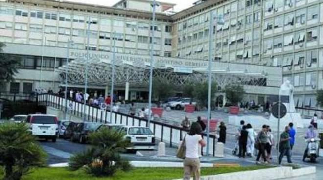 Tentativo di rapina all'ospedale Gemelli