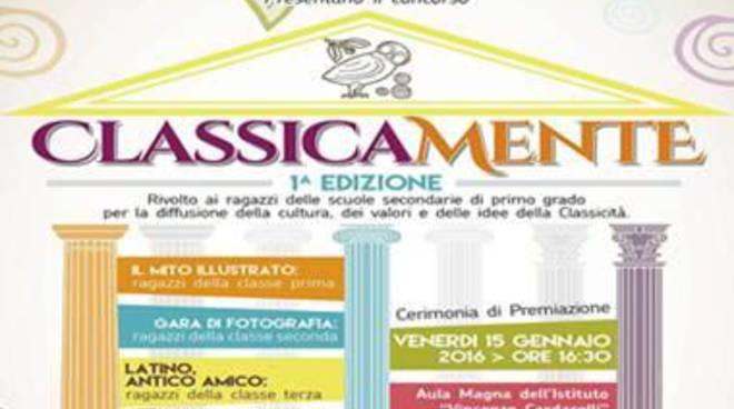 """Una nuova sfida per l'IIS """"Vincenzo Cardarelli""""chiamata """"ClassicaMente"""