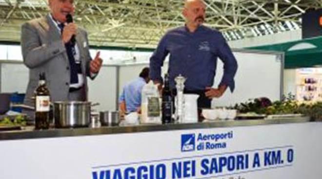 Adr: il Leonardo da Vinci diventa un 'aeroporto gourmand' per un giorno