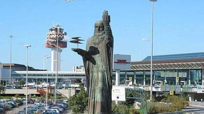 Apertura della Porta Santa nella Cappella dell'Aeroporto Leonardo Da Vinci