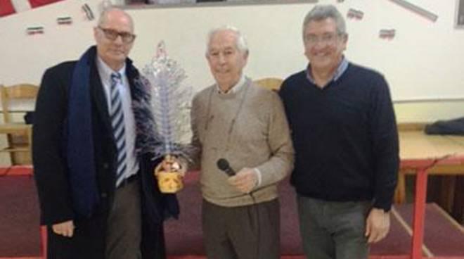 Auguri di fine anno del sindaco Mazzola al centro anziani