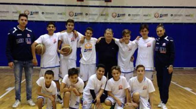 Basket: Under 14, sfiorato il successo a Formia