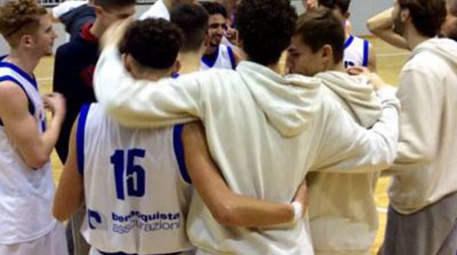 Basket: Under 20 Regionale, poker di successi