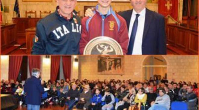 """Il premio """"Angelo Jacopucci"""" assegnato al karateca Mirko Barreca"""