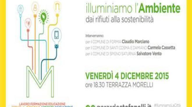 """""""Illuminiamo l'Ambiente"""": dai rifiuti alla sostenibilita'"""