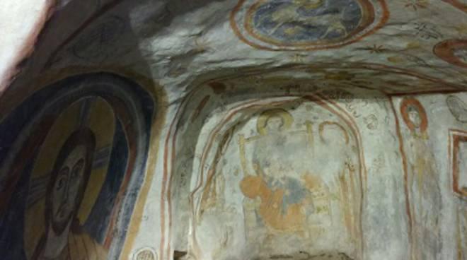 Patrimonio culturale: in 300 visitano l'Oratorio Cristiano Ipogeo