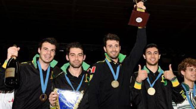 Samele, Pellegrini, Berrè e D'Armiento, i campioni d'Europa della sciabola, raccontano l'oro