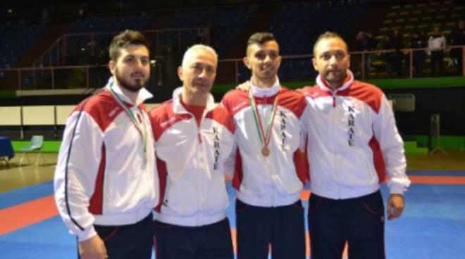 Un argento e due bronzi, per il Team Karate Ladispoli, agli Italiani Juniores