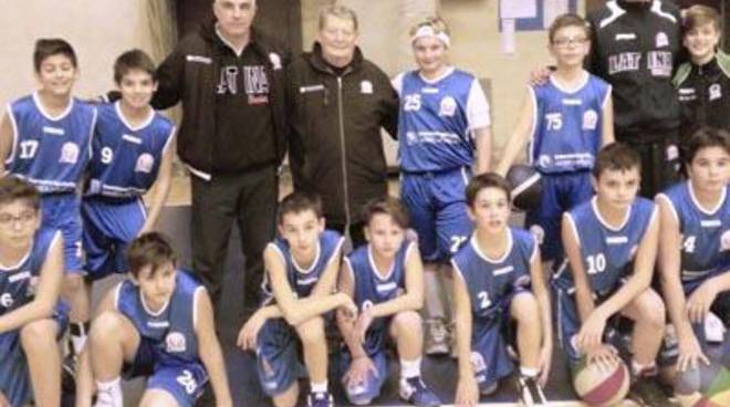 Basket: U13, stop casalingo con Alatri
