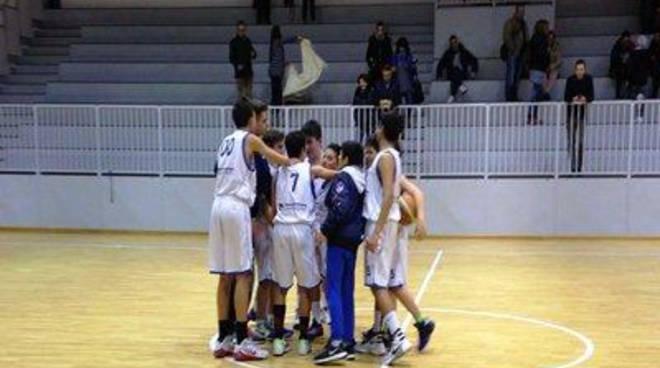 Basket: Under 14, stop casalingo con il Sezze