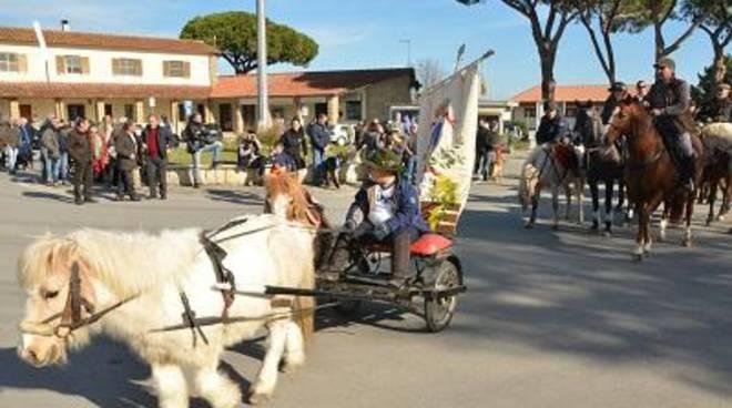 Celebrata a Pescia Romana la festa di Sant'Antonio Abate