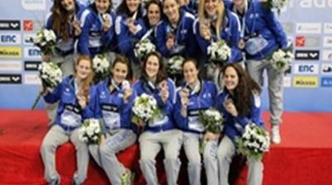 Il Setterosa di mister Conti centra il bronzo agli Europei di Serbia