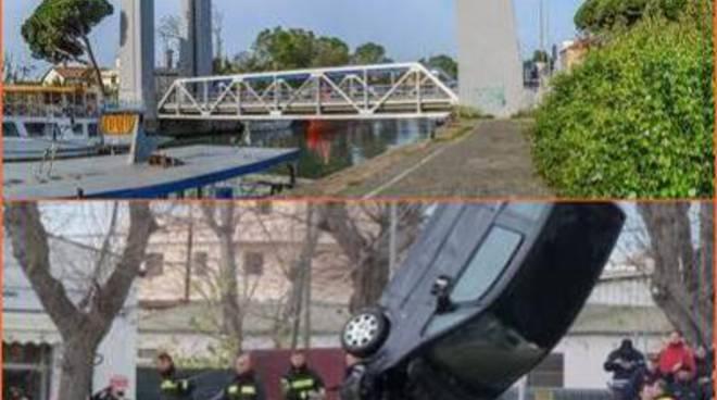 """Incidente Ponte 2 giugno, Montino: """"Terminate le operazioni di recupero dell'auto"""""""