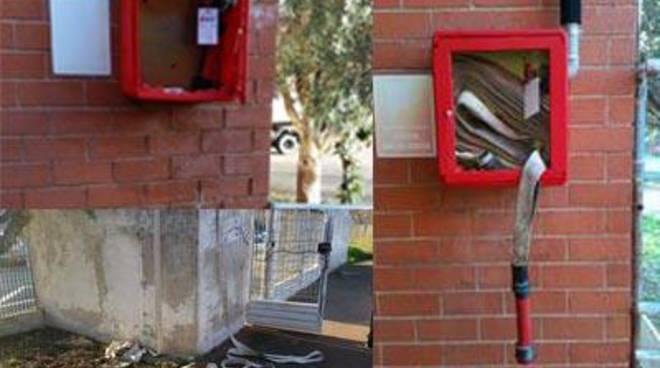 """Isola Sacra, Calicchio: """"Danneggiate le cabine antincendio della scuola materna l'Aquilone"""""""
