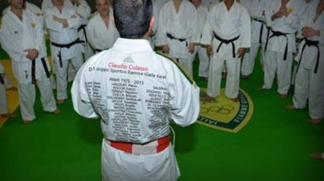 Karate Fiamme Gialle Day:la celebrazione delle conquiste sul podio