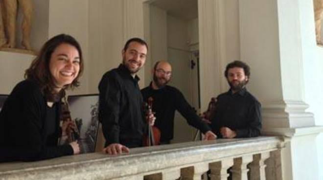"""L'edizione 2016 della rassegna """"Il Quartetto d'Archi"""" si apre con ilIl Quartetto Delfico"""