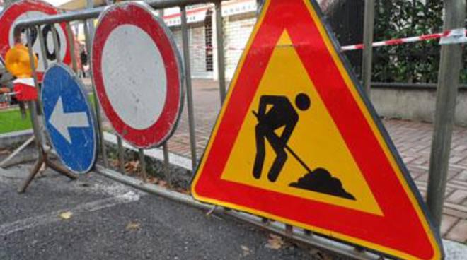 Nuova disciplina del traffico per i lavori all'acquedotto