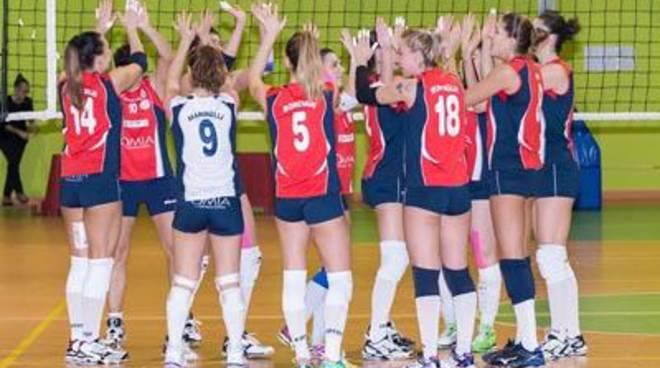 Pallavolo: l'Omia Volley Cisterna torna da Pesaro con una sconfitta