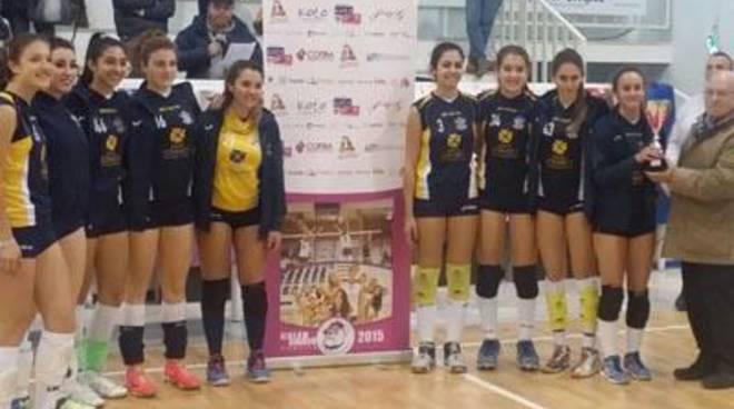 Pallavolo: la Sabaudia Under 16 vince contro Volalto e Volley Friends Roma
