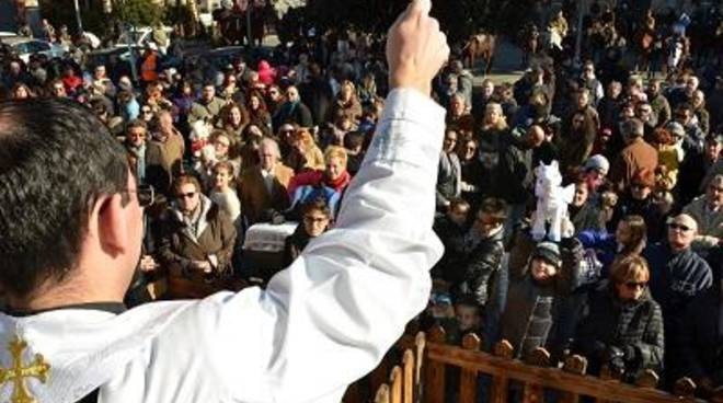Sant'Antonio Abate, celebrata la benedizione degli animali