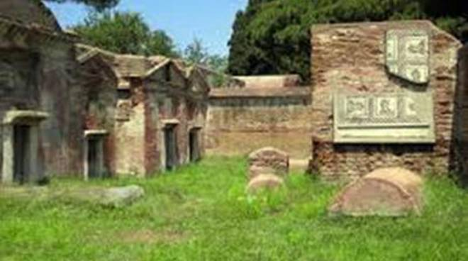 <span>Centro di Educazione Ambientale: visita alla Necropoli di Porto</span>