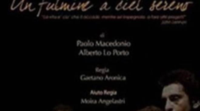 """Spazio teatro di Villa Guglielmi: Paolo Macedonio nello spettacolo """"Un fulmine a ciel sereno"""""""