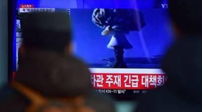 Test con bomba all'idrogeno in Nord Corea provoca un terremoto