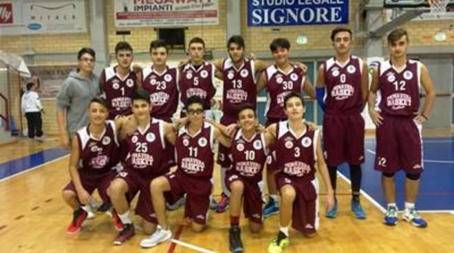 Under 16 Regionale:la Primavera Basket Pontinia sfiora il successo con Serapo