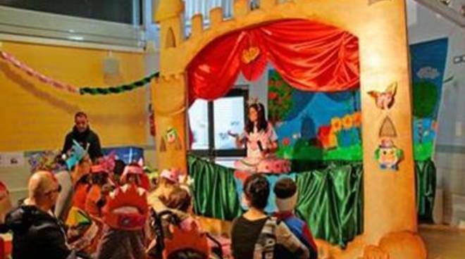 Ad Aranova il primo Carnevale a scuola