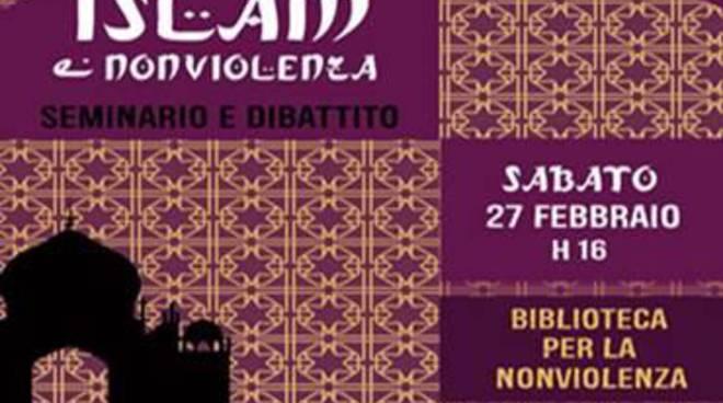 """Alla Biblioteca per la Nonviolenza, un seminario su """"Islam e Nonviolenza"""""""