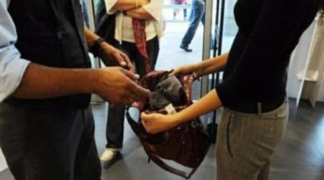 Arrestati 5 pregiudicati responsabili di furto aggravato all'interno di due negozi<br /><br />