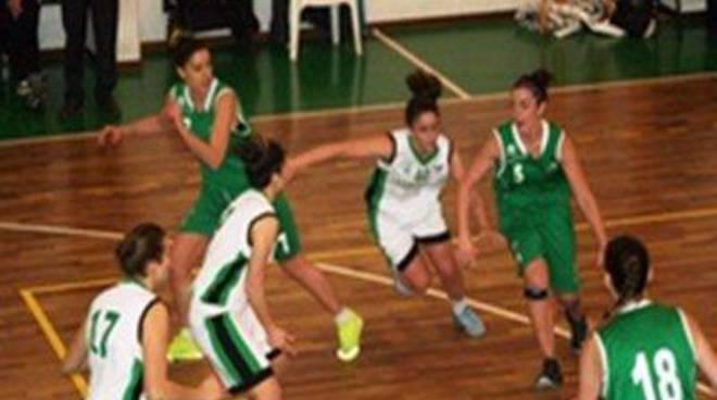 B Femminile: lavoro straordinario per il team biancoverde