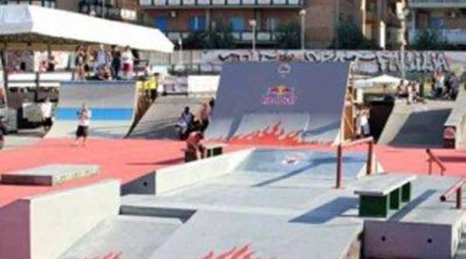 CasaPound: riqualificazione dello skate park