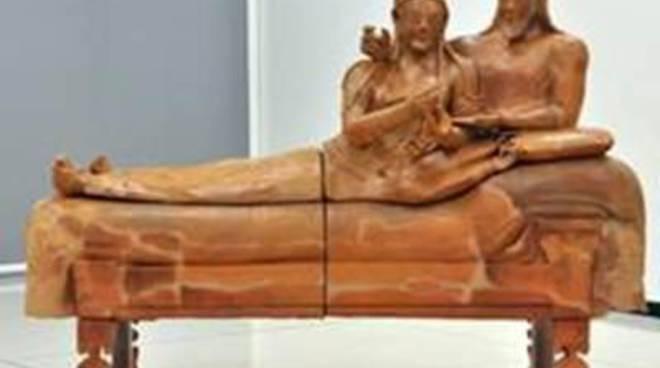 Il Sarcofago degli Sposi arriverà a Marzo a Cerveteri e ci resterà per sempre